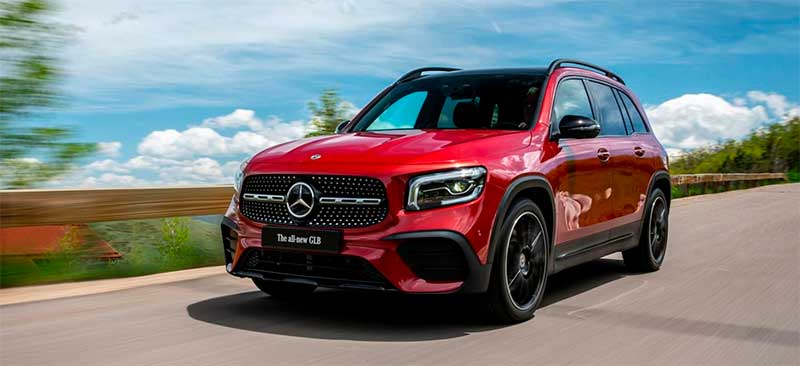 mercedes benz glb 2020